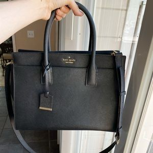 Kate spade Cameron street black satchel bag